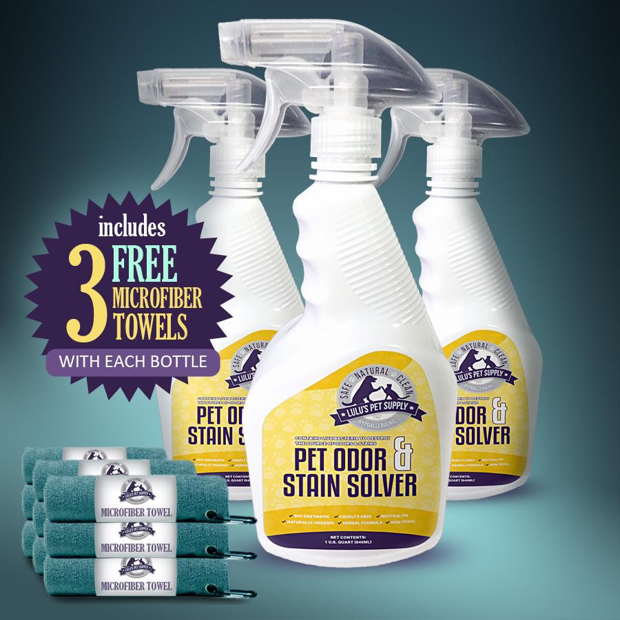 Lulu's Odor & Stain Solver 3-pack